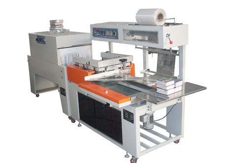 Automatic L-bar Sealing and Shrink Packing Machine