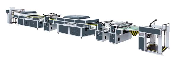ZXSG-1200D Automatic UV coating machine (three coaters)