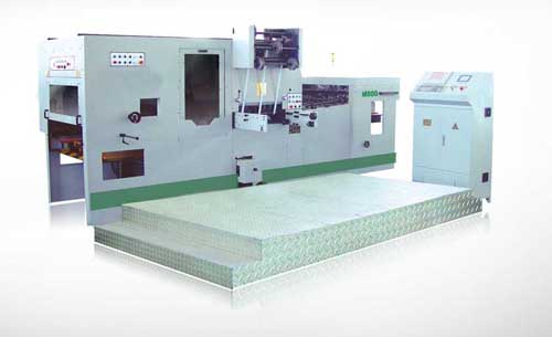 ZXTJ-800 automatic foil stamping and die cutting machine