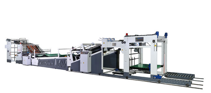 ZX-10HS Automatic Flute Laminating machine