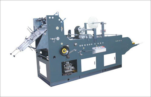 Fully automatic pocket envelope machine with stick function