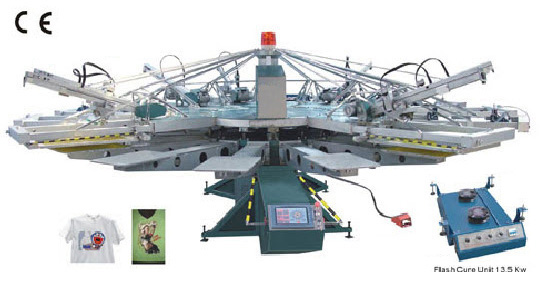 ZXYH Automatic Textile Screen Printer