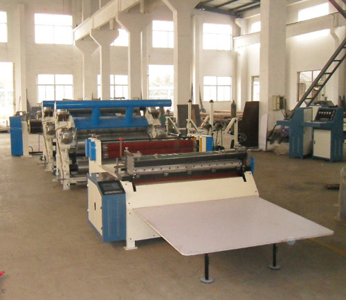 Double host Vacuum Adsorbable Corrugator