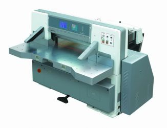 Innovo digital display double hydraulic double guide paper cutting machine