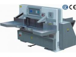 QZYK920DW Microcomputer doubles hydraulic double guide paper cutting machine