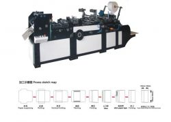 ZF-320 ENVELOPE PASTER PASTING MACHINE