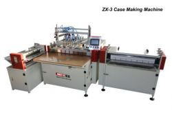 Book Case Making machine with folding station