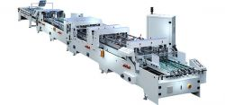 ZX-1200BFST Automatic crash lock bottom folding gluing machine of 4/6 coner