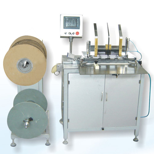 Semi-Automatic Double Wire Binding Machine