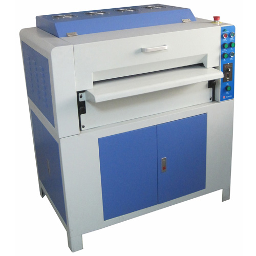UV coating and embossing machine