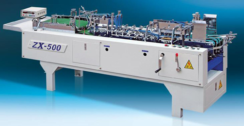 ZX-500 mini autmatic folder gluer