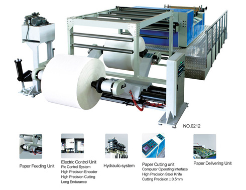 ZXHQ Computer control Hob Paper sheet cutting machine