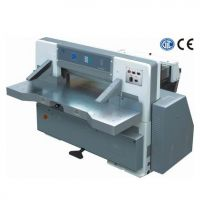 ZX 780DW Microcomputer single hydraulic double guide paper cutting machine