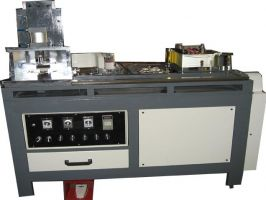 Rounded plating machine for book edge
