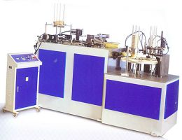 Paper Cup Sleeve Machine (Double Layers / Corrugated  PE Paper)